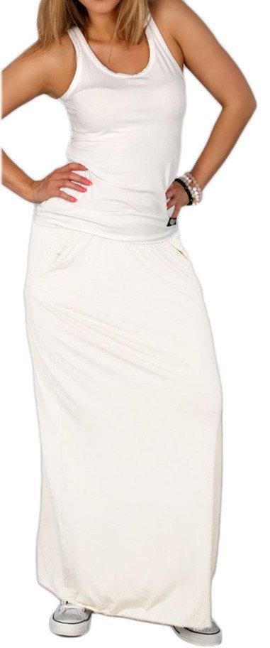 Damen Rock Lang Maxirock Boho Style Sommerrock mit elastischem Bund 36//38//40 247