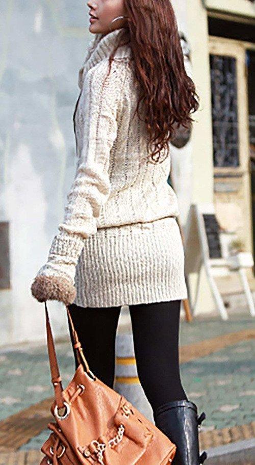new style dd4aa 53eab Mikos Damen Strickpullover Sweater Rollkragen Pullover ...